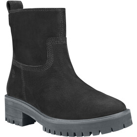 Timberland Courmayeur Valley Faux Fur Stiefel Damen jet black